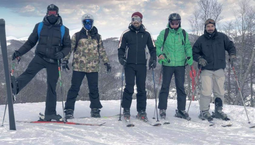 Okršaj na snijegu: Srđa Lubarda i Marko Vukotić kao profi skijaši