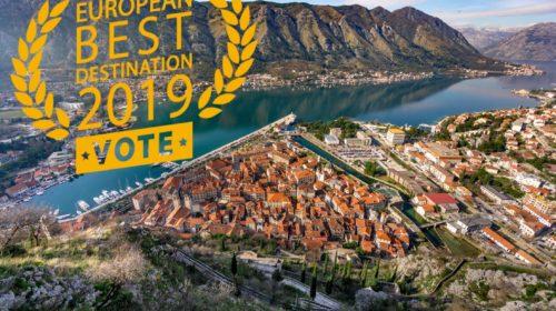 Kotor nominovan za najbolju evropsku destinaciju u 2019. godini