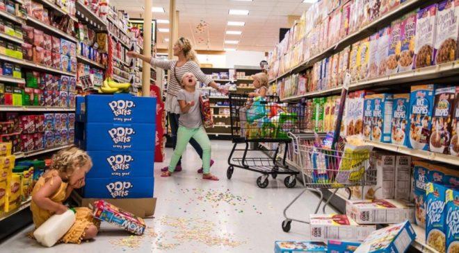 Savjet za roditelje čija djeca divljaju po prodavnicama