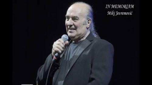 Održan pomen Mikiju Jevremoviću: Njegova kćerka kroz suze progovorila o lijepim uspomenama