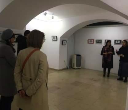 """Otvorena izložba Tamare Radusinović Thamar u beogradskoj galeriji ,,Singidunim"""""""
