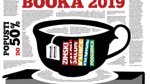 Program XI festivala BOOKA 2019.