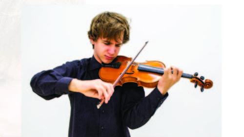 Koncert mladog violiniste u KIC-u Budo Tomović