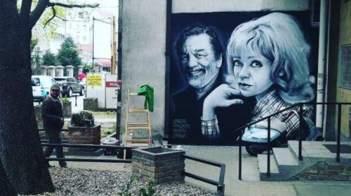 Mural sa likom Milene Dravić i Gage Nikolića krasi kraj gdje su živjeli