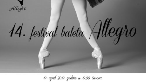 U čas Svjetskog dana plesa: 14. festival baleta Allegro