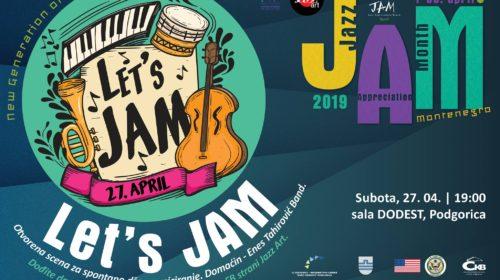 Prilika za mlade muzičare: Let's Jam