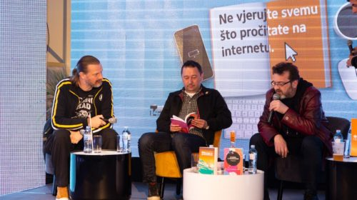 """Na 14. Međunarodnom sajmu knjiga i obrazovanja promovisana zbirka novela """"Bljuzga u praskozorje"""""""