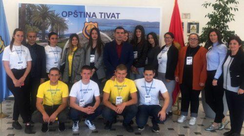 U Akcionom danu učestvovalo 126 tivatskih srednjoškolaca
