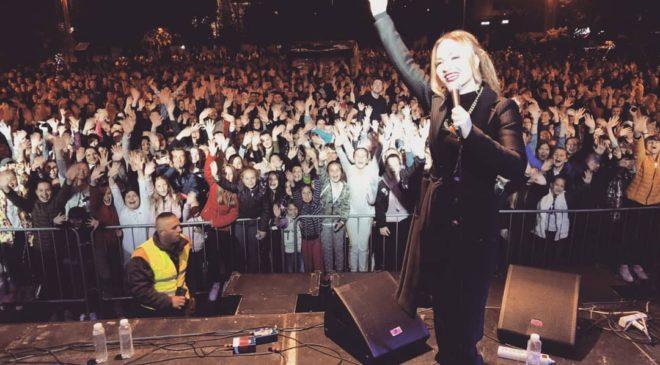 Jelena Tomašević oduševila publiku u Pljevljima