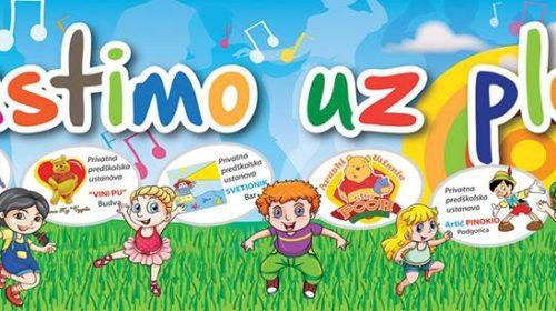 """U Podgorici IX međunarodna dječija manifestacija """"Rastimo uz ples"""""""