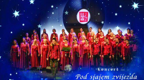 """Muzički spektakl: Koncert KIC pop hora """"Pod sjajem zvijezda"""""""