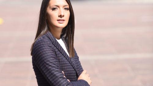 Aleksandra Mudreša: Nježna dama čeličnog stava