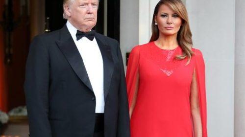 Melanija Tramp: Haljina koja je privukla najviše pažnje