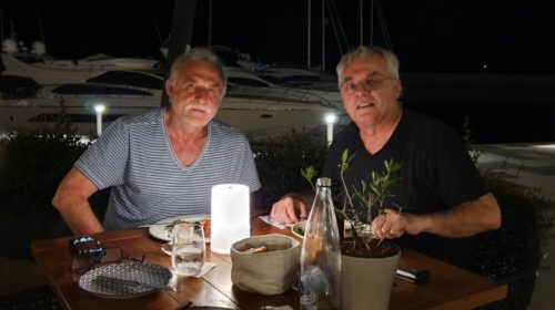 Lazar Ristovski: Odmor u Luštica bay