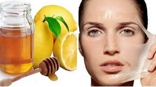 Maska od limuna i meda za lice