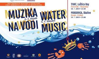 """Prvi put u Crnoj Gori koncerti pod nazivom """"Muzika na vodi"""""""