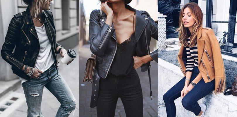 Kožne jakne su mast have ove sezone