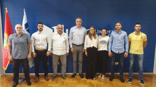 Prijem studentima Univerziteta Crne Gore, osvajačima medalja na univerzitetskom prvenstvu Evrope