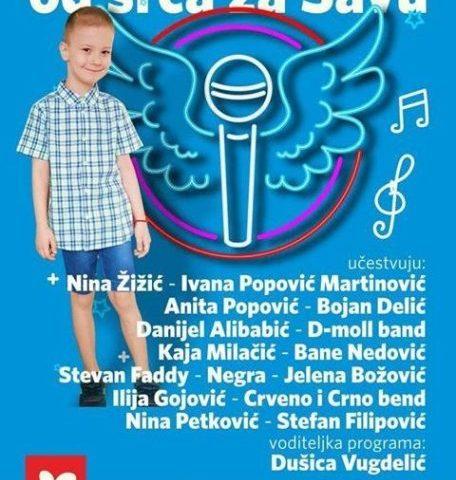 Humanitarni koncert za Savu 9. septembra u Tivtu