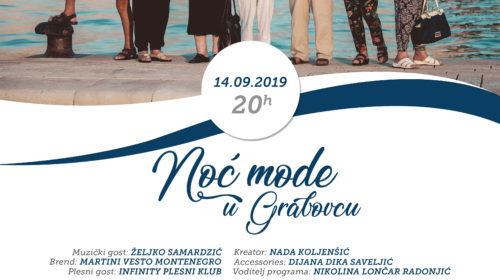 """""""Noć mode u Grabovcu"""" 14. septembra"""
