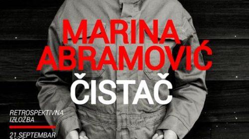 Javno predavanje Marine Abramović 28. septembra u Beogradu