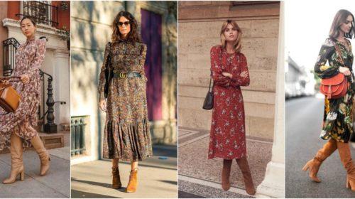 Haljina i čizme, kombinacija koju ćete poželjeti da nosite svaki dan