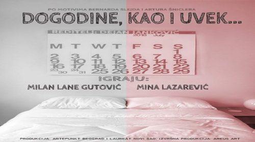 """Predstava """"Dogodine, kao i uvijek"""" večeras na sceni Nikšićkog pozorišta"""