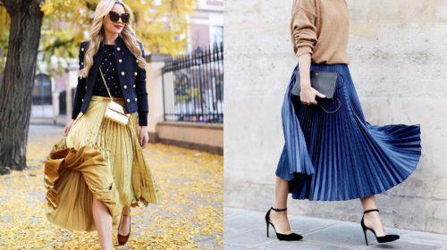 Krademo ideje od Parižanki: Dva načina kako da nosite plisiranu suknju