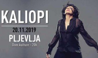 Humanitarni koncert Kaliopi Bukle u Pljevljima