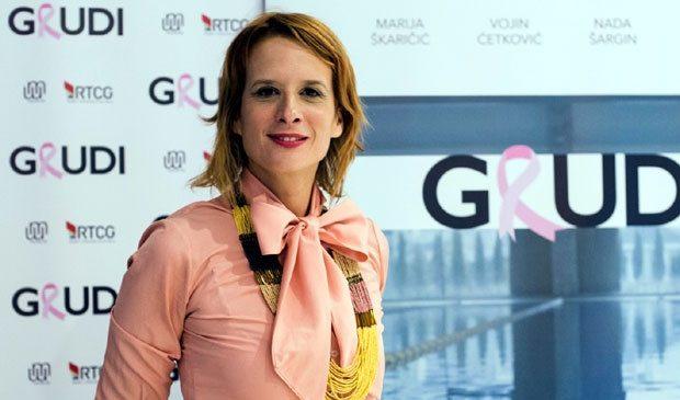 """Održana podgorička premijera """"Grudi"""", Marija Perović odabrala savršenu maslinastu haljinu"""