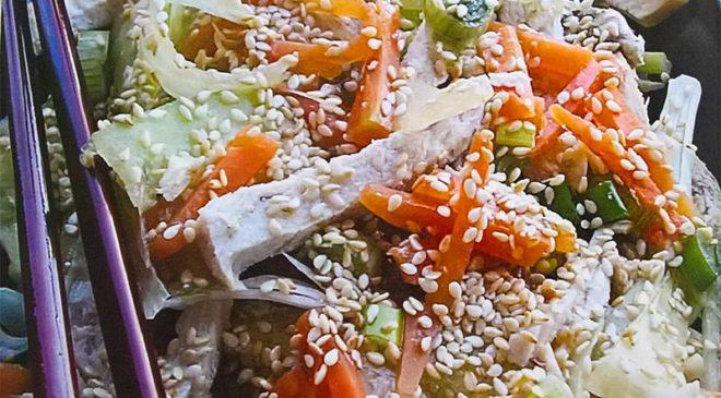 Kineska salata sa piletinom