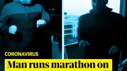 Istrčao 42 kilometra na balkonu svog stana