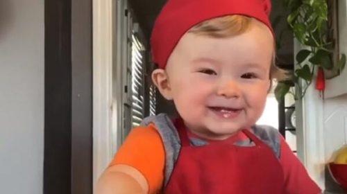 Jednogodišnji kuvar: Pogledajte zašto ga prati milion i po ljudi