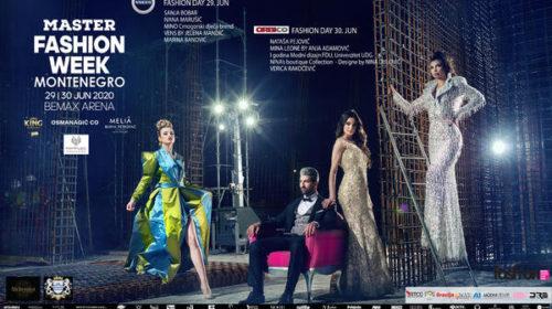 Master Fashion Week Montenegro 2020. biće održan 29. i 30. juna