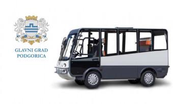 Na podgoričkim ulicama uskoro Komšo, vozilo za besplatan prevoz starijih