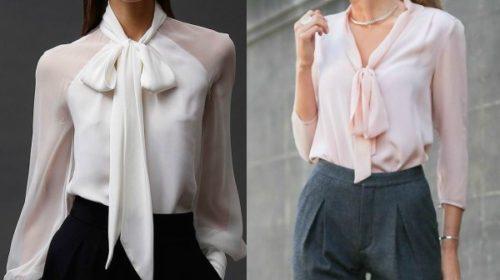 Košulje sa mašnim za dame sa stilom