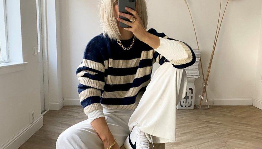 Izgledajte šik u svakoj kombinaciji kada nositi prugasti džemper