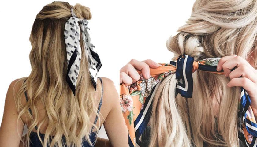 Modna inspiracija: Marama u kosi