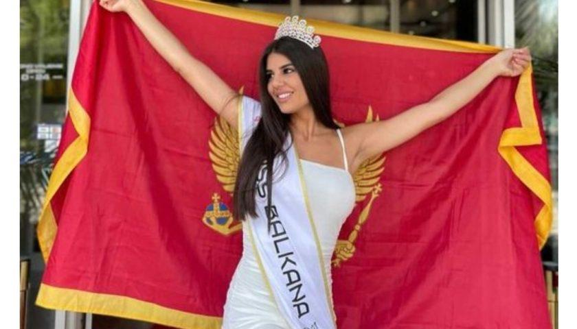 Martina Božinović je Miss Balkana 2021.