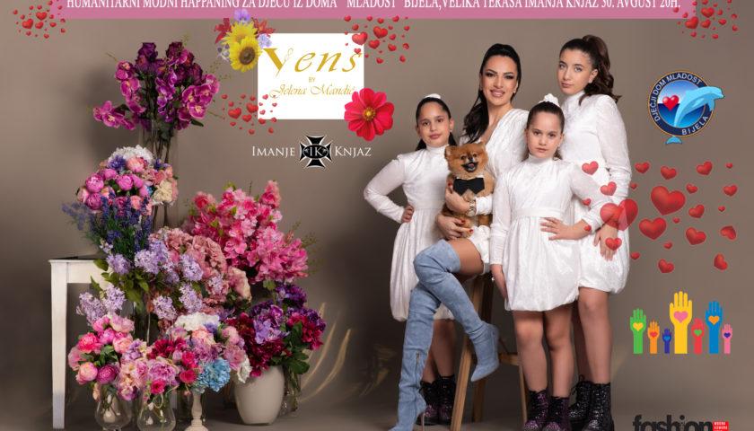 Humanitarni modni hepening za djecu iz Bijele