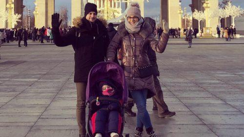 Ruska bajka: Jelena Božović uživa sa porodicom u čarobnoj Moskvi