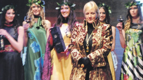 Anastazija Miranović na 23. izdanju Internacionalne smotre mode u Kotoru