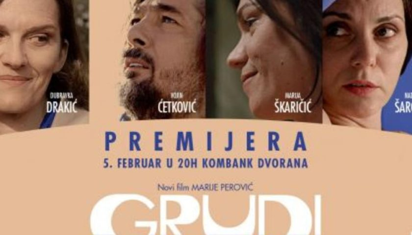 """""""Grudi"""" Marije Perović u Rimu"""