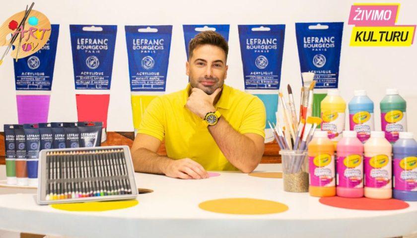 Vladan Bošković pokrenuo Art jutjub TV pa tvrdi: Nema kuće sa ovoliko rekvizita i igračaka koje bi djecu fascinirale