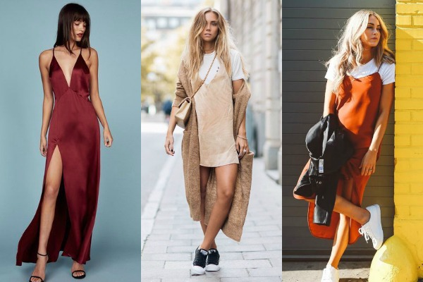 Slip haljine se i dalje nalaze na vrhu modne liste