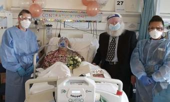 Stariji par se vjenčao u COVID bolnici nakon 46 godina veze
