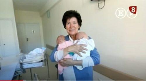 """Rodila je blizance sa 64 i sud joj ih je oduzeo: """"Ona nije sposobna da brine o djeci"""""""