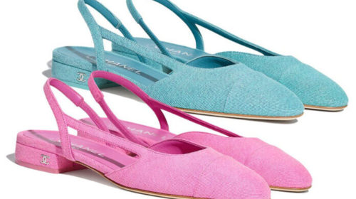 Šanel slingback cipele u nježnim tonovima za pravu damu