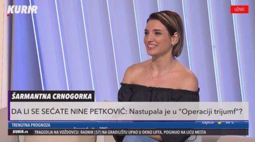 Nina Petković: Bilo je uspona i padova, pauza, ali to je život!